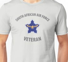 South African Air Force (SAAF) Veteran (Grey Text) Unisex T-Shirt