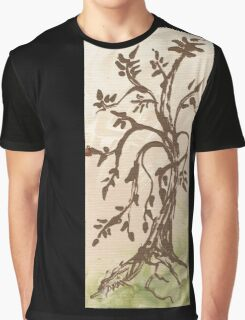 Young Willow Tree, Going With the Flow Graphic T-Shirt
