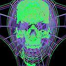 Webbed Skull by GrimDork