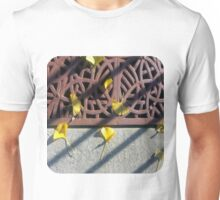 Grate and Ginko Leaves Unisex T-Shirt
