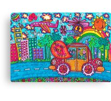 Vehicles - Are We There Yet? Canvas Print