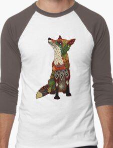 fox love juniper Men's Baseball ¾ T-Shirt