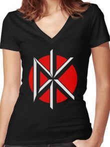 Dead Kennedys T-Shirt Women's Fitted V-Neck T-Shirt