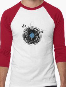 Enchanting Vinyl Record Grunge Vintage Men's Baseball ¾ T-Shirt