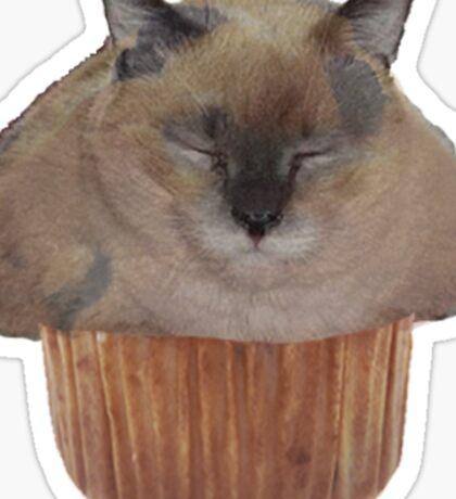 Muffin Cat Sticker