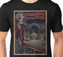 Artist Posters Lyman H Howe's high class moving pictures new magic pictures Courier Co litho Buffalo NY 0013 Unisex T-Shirt