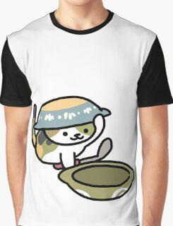 Chairman Meow (Neko Atsume) Graphic T-Shirt