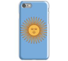 Argentina Flag T-Shirt Argentine Bedspread Sol De Mayo - Sun of May iPhone Case/Skin