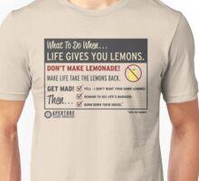 Lemons, portal 2 Unisex T-Shirt