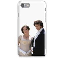Elizabeth and Darcy circa 1995 iPhone Case/Skin