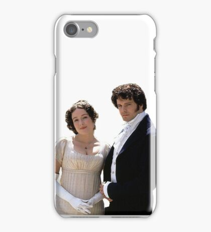 Elizabeth and Darcy circa 1995 iPhone Case/Skin