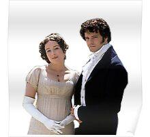 Elizabeth and Darcy circa 1995 Poster