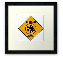 DRI Thrash Zone - T-Shirt Framed Print