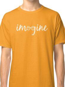 Imagine - John Lennon Tribute Artwork - John's Glasses Classic T-Shirt