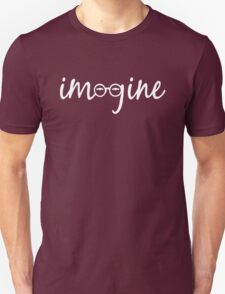 Imagine - John Lennon Tribute Artwork - John's Glasses Unisex T-Shirt
