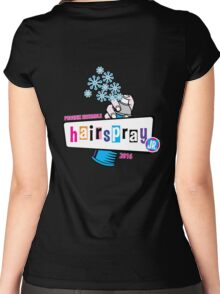 PYP - Hairspray JR (blue) Women's Fitted Scoop T-Shirt