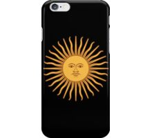 Argentina Sun Duvet Cover - Argentinian Sticker iPhone Case/Skin