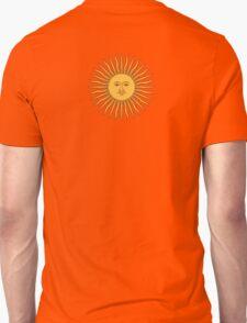 Argentina Sun Duvet Cover - Argentinian Sticker T-Shirt