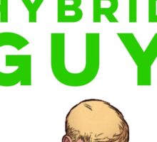 Shape-Shifting Alien Hybrid Guy Sticker