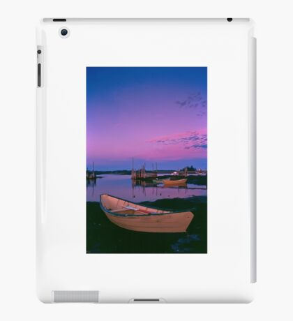 Sunset at Blue Rocks, Nova Scotia iPad Case/Skin