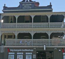 Deloraine Hotel, Deloraine, Tasmania, Australia Sticker
