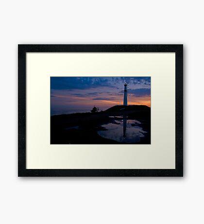 Black Rock Lighthouse, Nova Scotia Framed Print