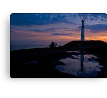 Black Rock Lighthouse, Nova Scotia Canvas Print