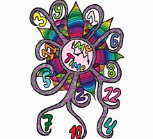 Colorfull abstract clock  Unisex T-Shirt