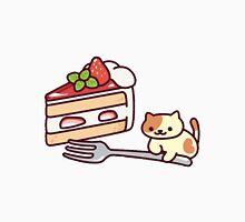Neko Atsume - peaches cake Unisex T-Shirt