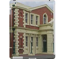 Surpeme Court Building, Launceston, Tasmania, Australia iPad Case/Skin