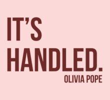 It's Handled - Olivia Pope Baby Tee