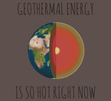 GEOTHERMAL ENERGY IS SO HOT RIGHT NOW One Piece - Short Sleeve