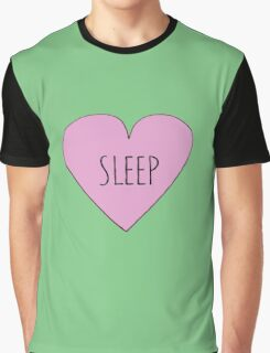 I LOVE SLEEP Graphic T-Shirt