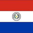 Paraguay Flag Stickers (obverse) by Mark Podger