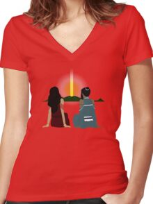 Korrasami - What The Future Holds Women's Fitted V-Neck T-Shirt