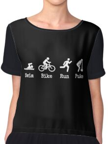 Triathlon Chiffon Top
