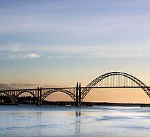 Yaquina Bay Bridge, Newport, Oregon by Doug Graybeal