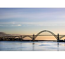 Yaquina Bay Bridge, Newport, Oregon Photographic Print