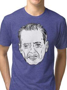 Buscemi Line Drawing Tri-blend T-Shirt