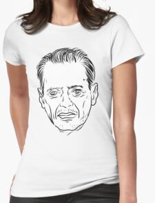 Buscemi Line Drawing Womens Fitted T-Shirt