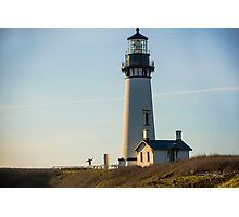 Yaquina Lighthouse, Newport, Oregon Photographic Print