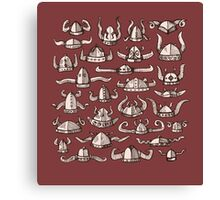 Horned Headware Canvas Print
