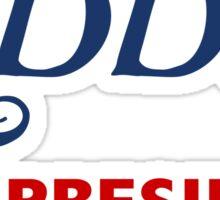 Eddie for President Sticker
