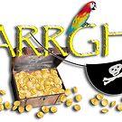 Pirate Talk Text - ARRGH! by Gravityx9