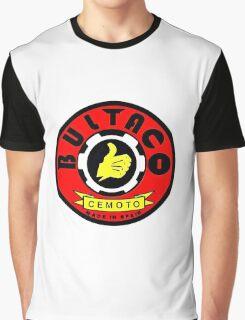 Vintage Bultaco Spanish Motorcycle Graphic T-Shirt