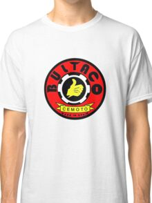 Vintage Bultaco Spanish Motorcycle Classic T-Shirt