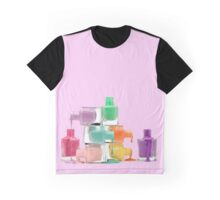 Happy nail polish Graphic T-Shirt