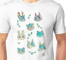 Blue Animal Crossing Villagers Unisex T-Shirt