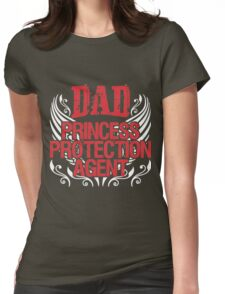 Dad princess Womens Fitted T-Shirt