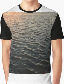 water at sunset Graphic T-Shirt